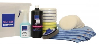 CLEANPRODUCTS Poliersystem-Set MEDIUM